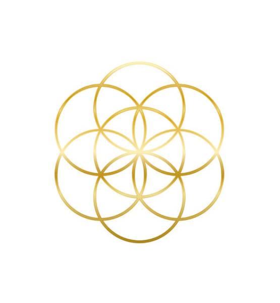 round-circles-golden